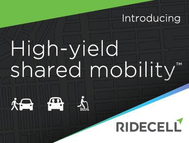 Ridecell High-Yield Shared Mobility Toolkit, | Ridecell